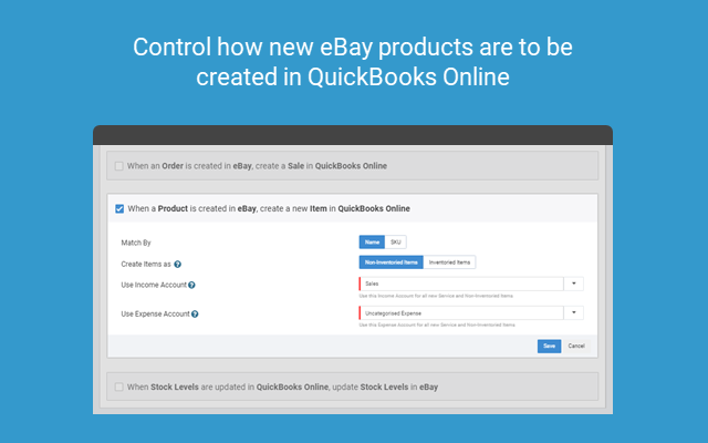 Connect Ebay By Onesaas With Quickbooks Online Intuit