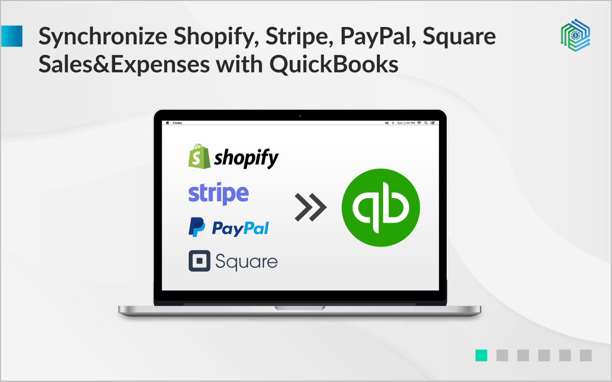 Connect Shopify Stripe Square Paypal Ebay Sync Synder With Quickbooks Online Intuit