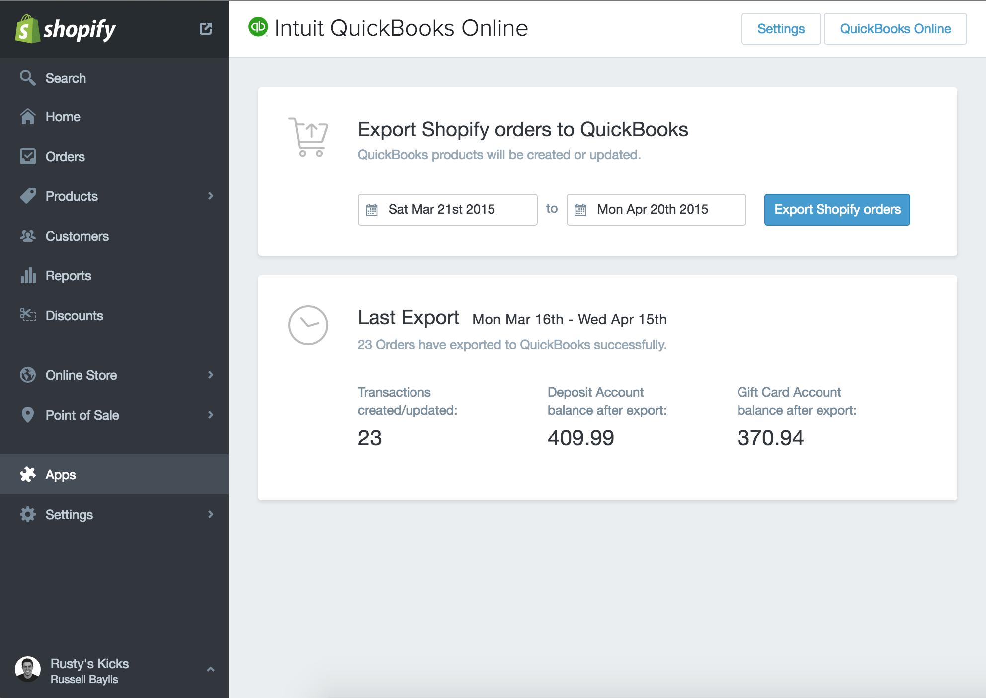 QuickBooks App Store